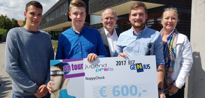 Pressefoto RIZ GENIUS Jugendpreis on tour Mistelbach 2